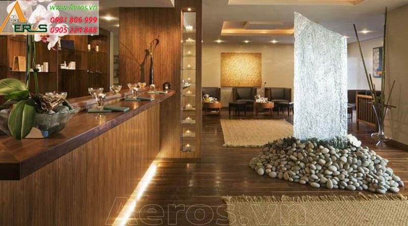 Thiết kế thi công nội thất Spa Natural tại quận 5