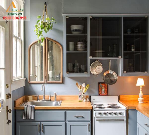 Top mẫu nhà bếp nhỏ đẹp và mẹo tối ưu cho nhà bếp nhỏ